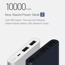 <b>Original Xiaomi New Power</b> Bank Powerbank 2 10000mAh Dual ...