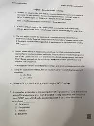 statistics and probability archive com homework problems bowen straightforward statistics chapter 1 introduction to statistics 1 students are