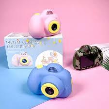 Children's Educational Toddler Toys Photo Camera Kids Mini Digital ...