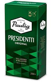 Купить Молотый <b>кофе Paulig Presidentti Original</b> 250 г – ROZETKA ...