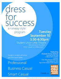 dress for success flyer spears business news dress for success brochure