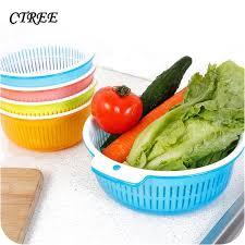 <b>CTREE</b> 2 In 1 Plastic <b>Fruit</b> Basket Storage Boxes Kitchen Sink Drain ...