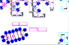 space planning cad office space layout
