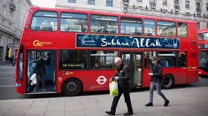 Des publicités «à la gloire d'Allah» sur les bus anglais   www ...