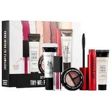 <b>Try</b>-<b>Me</b>: <b>Fan Faves</b> Mini Face Set - <b>Smashbox</b> | Sephora