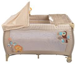 Купить <b>Манеж</b>-<b>кровать Capella</b> S10 бежевый по низкой цене с ...