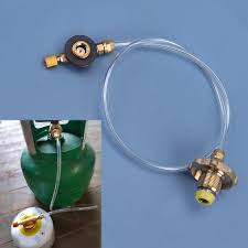 <b>1pc</b> Gas Refill Adapter <b>Outdoor Camping Stove</b> Filling Propane ...