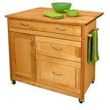 unfinished wood kitchen carts wheels drawers