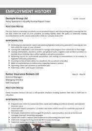 Professional Insurance Broker Resume  insurance broker resume     Example Resume And Cover Letter