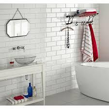 bathroom white tiles:  images about white tiles on pinterest flats grey kitchen walls and white tile bathrooms
