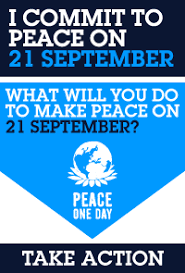 Image result for Happy Peace Day