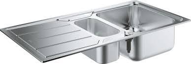 <b>Мойка</b> Grohe K500 60-S 97/50 1.5, 31572SD0, серый металлик