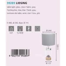 <b>Лампа настольная Eglo</b> Lidsing <b>99289</b> купить в интернет ...