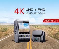 4K DVR Dual Dash Cam <b>VIOFO A129 Pro</b> Duo 3840*2160P Ultra ...