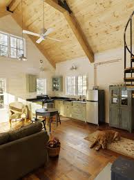 inspired kitchen cdab white brown: rustic walls and ceilings family room rustic with vaulted ceiling rustic kitchen wood floor