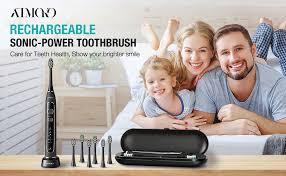 ATMOKO <b>Electric</b> Toothbrush, Sonic <b>Power</b> Whitening Toothbrush ...