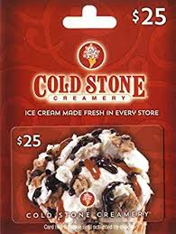 Cold Stone Creamery Gift Card $25: Gift Cards - Amazon.com
