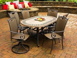 patio tile table image of tile top patio table ideas
