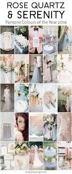 flowers wedding decor bridal musings blog: rose quartz amp serenity pantone colours of the year  bridal musings wedding blog