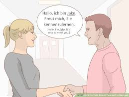 How to Talk About Yourself in German     Steps  with Pictures  wikiHow