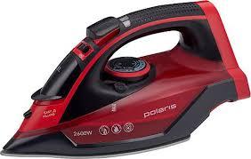 Купить <b>утюг Polaris PIR</b> 2699K Керамическое покрытие, красный ...