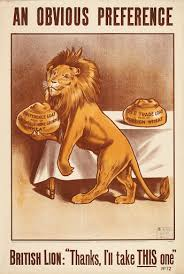 An obvious prederence <b>British Lion</b>: « Thanks, I'll take this one ...