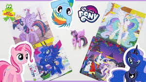 <b>Пазл ОРИГАМИ</b> с блестками для <b>малышей</b> My Little Pony 4 в 1 ...