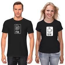 """<b>Парные футболки</b> c дизайнерскими принтами """"пиво"""" - <b>Printio</b>"""