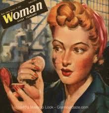 1940s london blitz makeup look