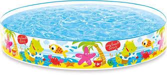 """Надувной жесткий <b>бассейн Intex</b> """"<b>Пляж</b>"""", 152 х 25 см, от 3 лет ..."""
