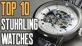 Обзор <b>часов Stuhrling Original</b> Tourbillon 243.331X2 - YouTube