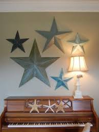 metal star wall decor: new idea for my wallmetal stars on my wall but different