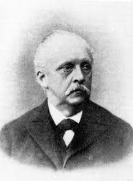 Altersbild von Hermann von Helmholtz (aus: Große Naturforscher / von Philipp Lenard) - Helmholtz-Lenard