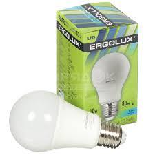 <b>Лампа светодиодная Ergolux LED-A60-10W</b>, 10 Вт, E27 ...