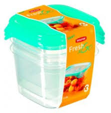 Набор <b>контейнеров Curver</b> Fresh and <b>Go</b> 182223 Blue