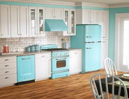 painted blue kitchen cabinets house: house design kitchen kitchen fresh ideash with wall kitchen cabinets decor with blue stove and refirgerator