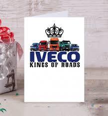 Открытка <b>IVECO</b> - <b>короли дорог</b> - купить в магазине Futbolki SHOP