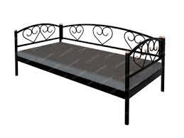 <b>Кровать</b>-кушетка металлическая <b>СтиллМет Дарина</b>