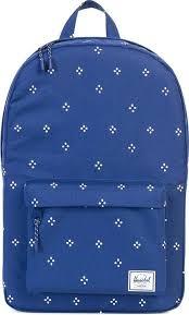 Подростковый <b>рюкзак Herschel Classic Mid-Volume</b> Синий в точки