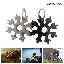 Outdoor <b>Portable Mini Snowflake</b> Multi-Tool <b>Snowflake</b> Pocket ...