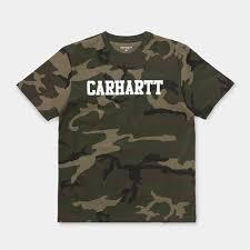 Carhartt WIP Футболка S/S College T-Shirt CAMO ... - Бордшоп#1