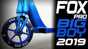 <b>Трюковой самокат Fox</b> Pro BIG BOY 2019 Обзор характеристики ...
