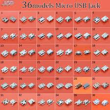JCD New 36 model Mini micro usb connector jack charging socket ...