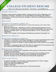 education section resume writing guide   resume geniuscollege student resume sample