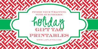 la plates blog holiday gift tags printable holiday gift tags printable