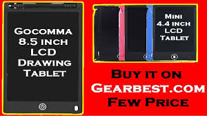 <b>Gocomma 8.5 inch</b> & Mini 4.4 <b>inch LCD</b> Drawing Tablet for Children ...