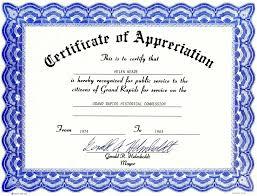 appreciation certificate template open sample resume it