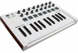 Купить <b>MIDI</b>-<b>клавиатура ARTURIA MiniLab</b> mkII с бесплатной ...