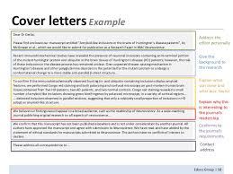cover letter article submission cover letter for article submission article cover letter