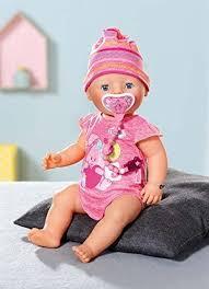 <b>Zapf Creation Baby Born</b> Interactive Doll: Amazon.co.uk: Toys ...